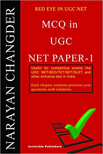 best Book for mcqs in ugc net paper 1